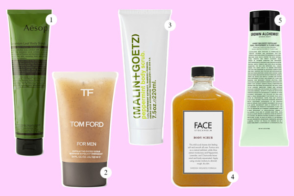 Top Five: Body Scrub