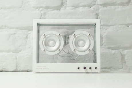 The Small Transparent Speaker by People People
