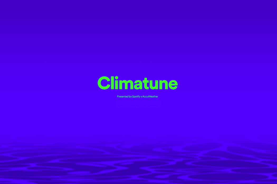 "AccuWeather and Spotify launch ""Climatune"""