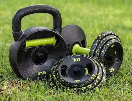 Practix: Kettlebell and Dumbbell for Home Workout