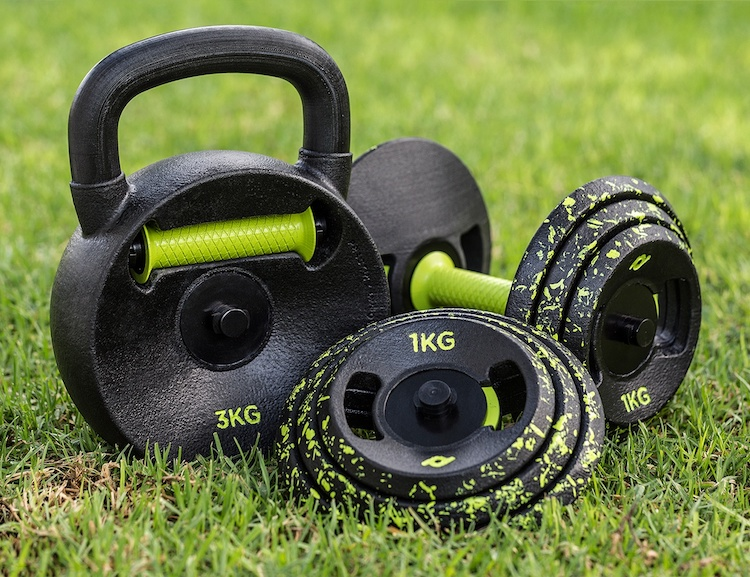 Practix kettlebell and dumbbell for home workoutdaan