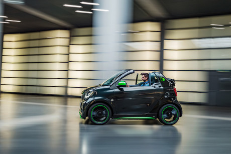 The Smart ForTwo Electric Drive