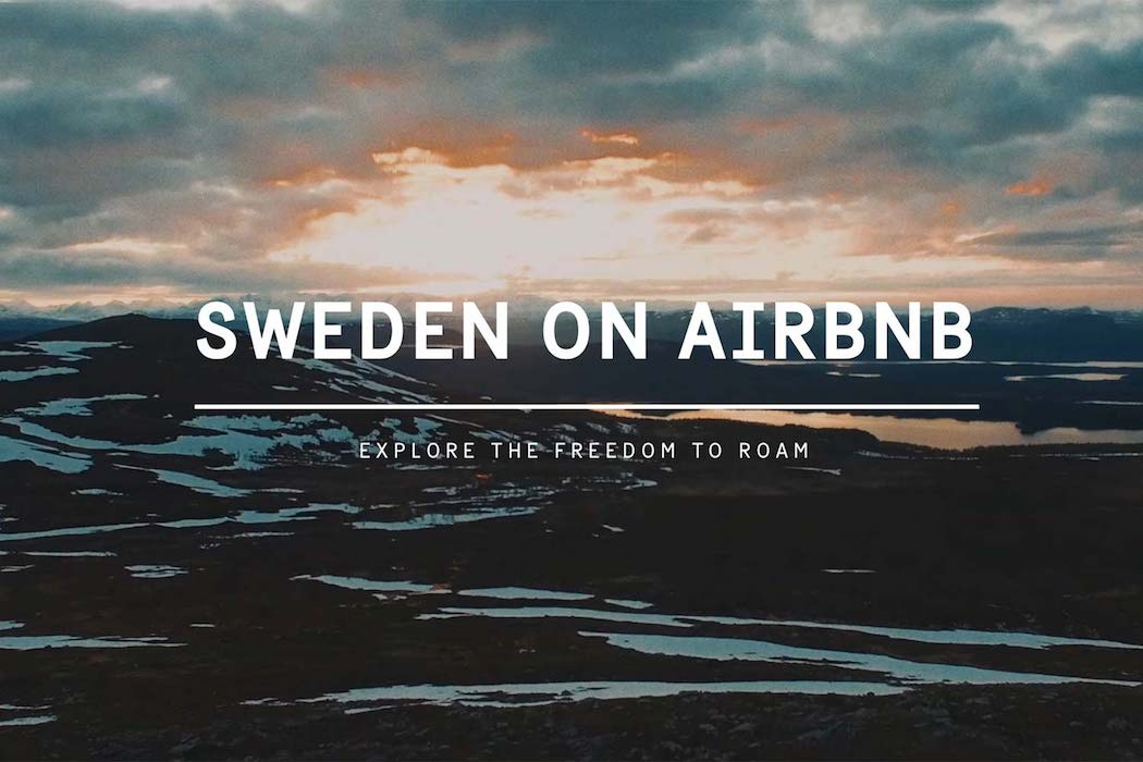Sweden lists entire country on Airbnb