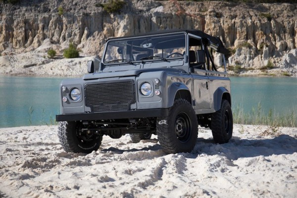 Nardo Grey Land Rover D90 by Cool & Vintage