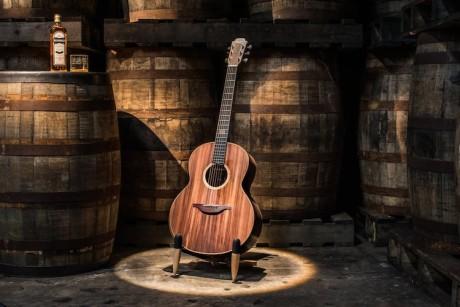 Bushmills x Lowden F-50 Whiskey Cask Guitar