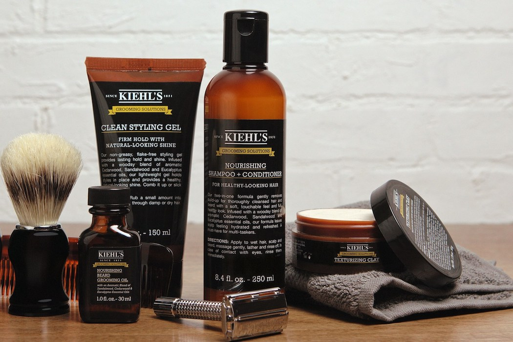 Kiehl's introduces new Grooming Solutions Line