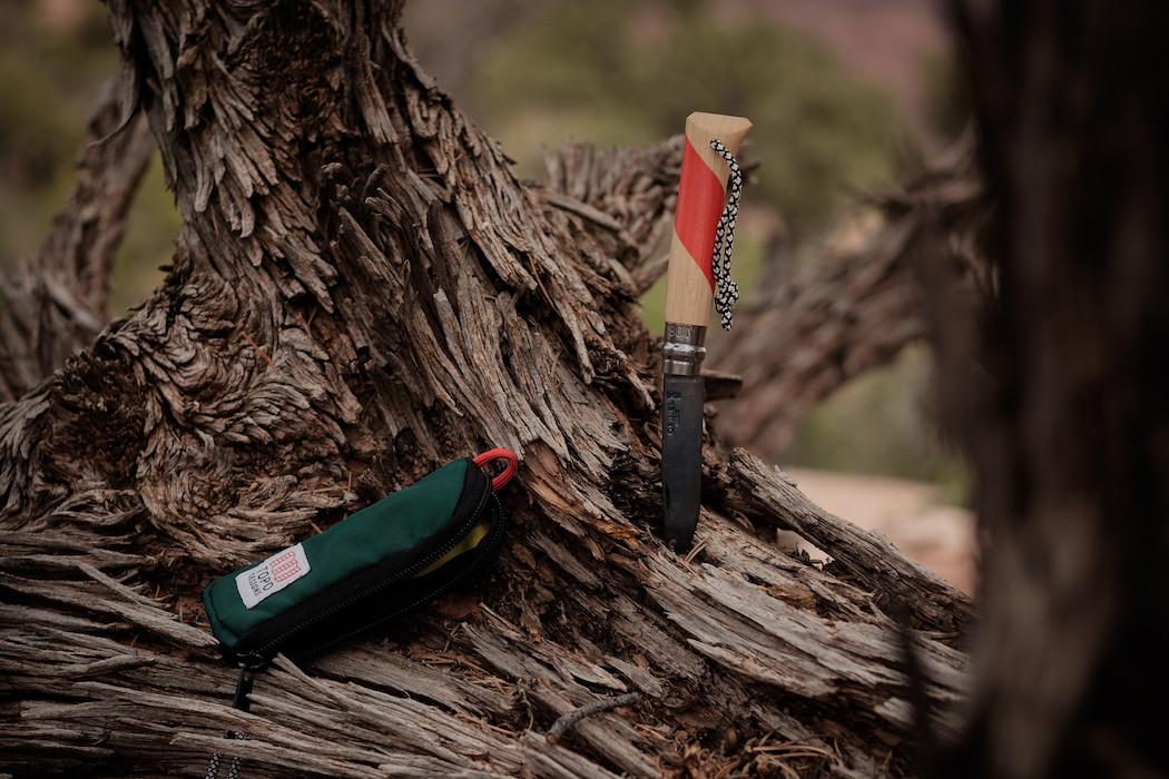 Topo Designs x Opinel N° 08 Knife Package